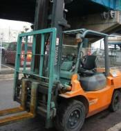 Xê Nâng Toyota, 4Mt, Diesels, Yr 2009